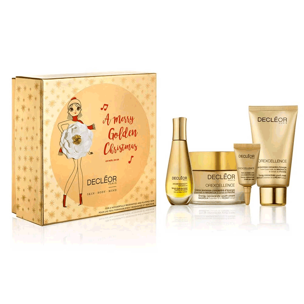 Decleor A Merry Golden Christmas Gift Set