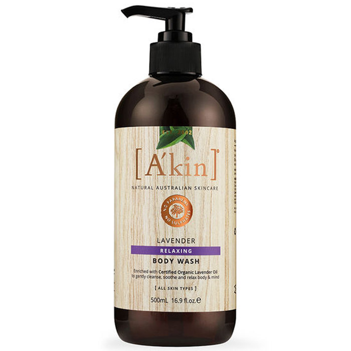 A'kin Lavender Relaxing Body Wash 500ml