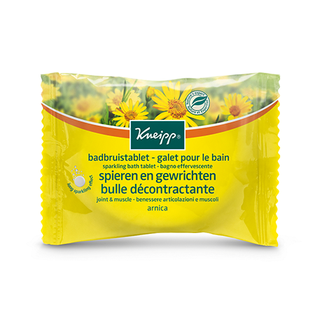Kneipp Joint & Muscle Sparkling Bath Tablet 80g