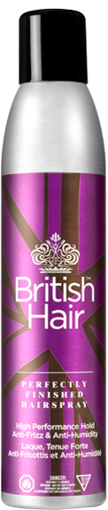 Image of British Hair Perfectly Finished Hairspray 299ml