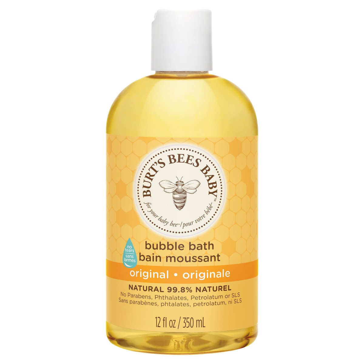 Burt's Bees Baby Bee Bubble Bath 350ml