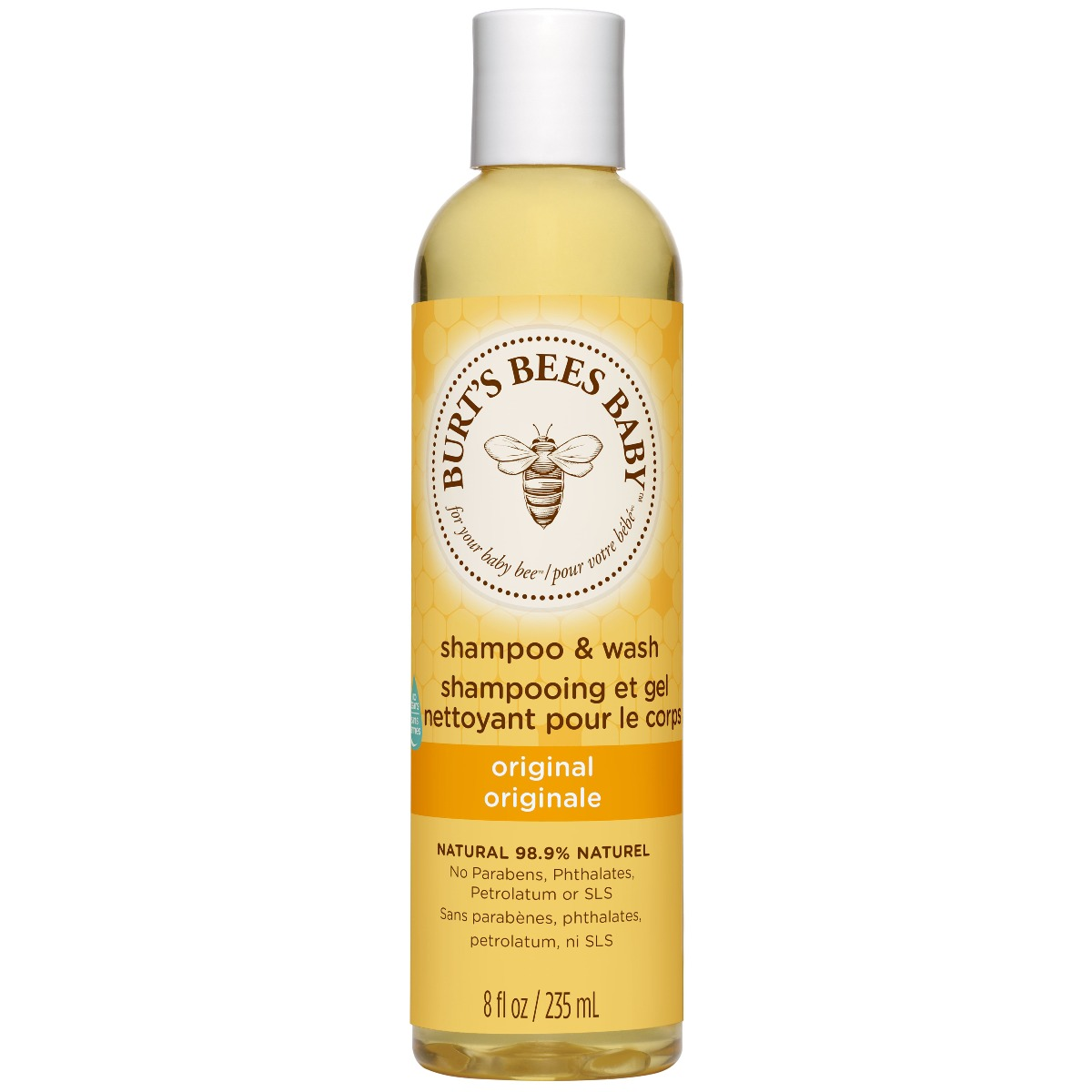 Burt's Bees Baby Bee Shampoo & Body Wash 235ml