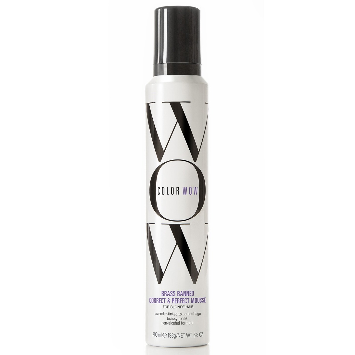 Color Wow Brass Banned Mousse for Blonde Hair 200ml