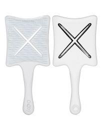 Ikoo Paddle X Brush Platinum White