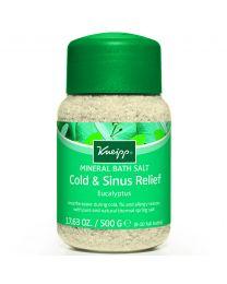 Kneipp Cold Season Eucalyptus Mineral Bath Salts 500g