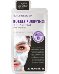 Skin Republic Bubble Purifying & Charcoal Face Mask 20ml