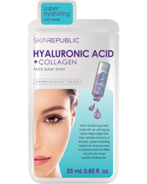 Skin Republic Hyaluronic Acid + Collagen Face Mask 25ml