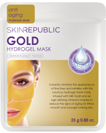Skin Republic Gold Hydrogel Face Sheet Mask 25g