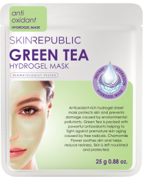 Skin Republic Green Tea Hydrogel Face Mask 25g