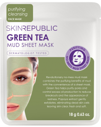 Skin Republic Green Tea Mud Face Mask 18g