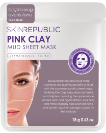 Skin Republic Pink Clay Mud Face Mask 18g