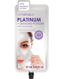 Skin Republic Platinum & Diamond Powder Peel-Off Mask 27ml