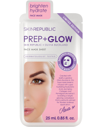 Skin Republic Prep + Glow Sheet Mask X Olivia Buckland 25ml