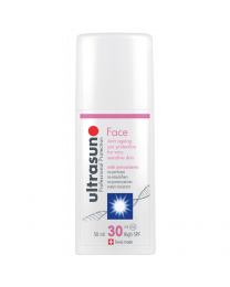 Ultrasun Face High SPF30 Anti-Ageing Formula 50ml