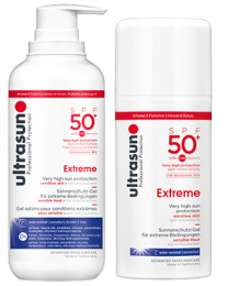 Ultrasun Extreme SPF50+ 100ml & 400ml Duo