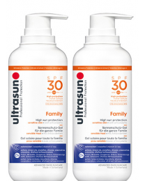 Ultrasun Super Sensitive Family SPF30 400ml x 2