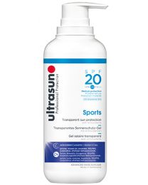 Ultrasun Sports Gel SPF20 400ml