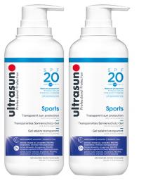 Ultrasun Sports SPF20 400ml x 2