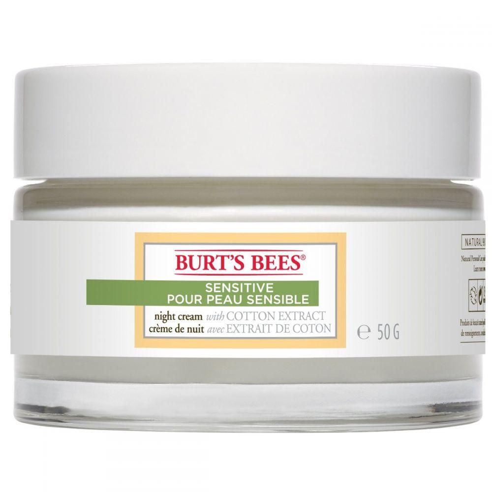 Burt S Bees Sensitive Skin Night Cream 50g