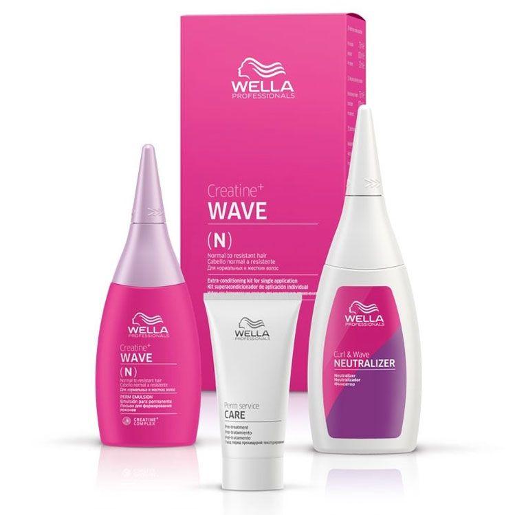 Wella Professionals Creatine Wave N Hair Kit
