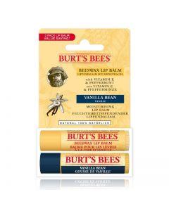 Burt's Bees Autumn Edition - Beeswax and Vanilla Bean Lip Balm Duo