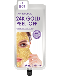 Skin Republic 24k Gold Peel Off Face Mask 27ml