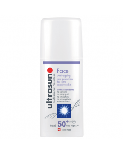 Ultrasun Face SPF50+ Anti-Ageing Formula 50ml
