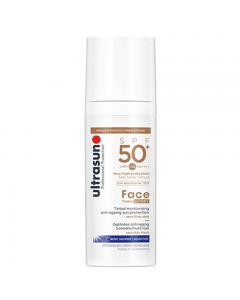 Ultrasun Face Tinted SPF50+ Honey 50ml