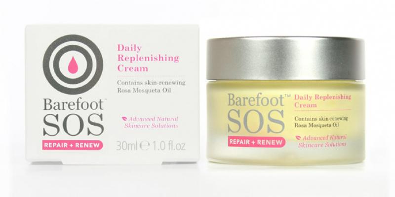 Image of Barefoot SOS Repair & Renew Daily Replenishing Cream 30ml