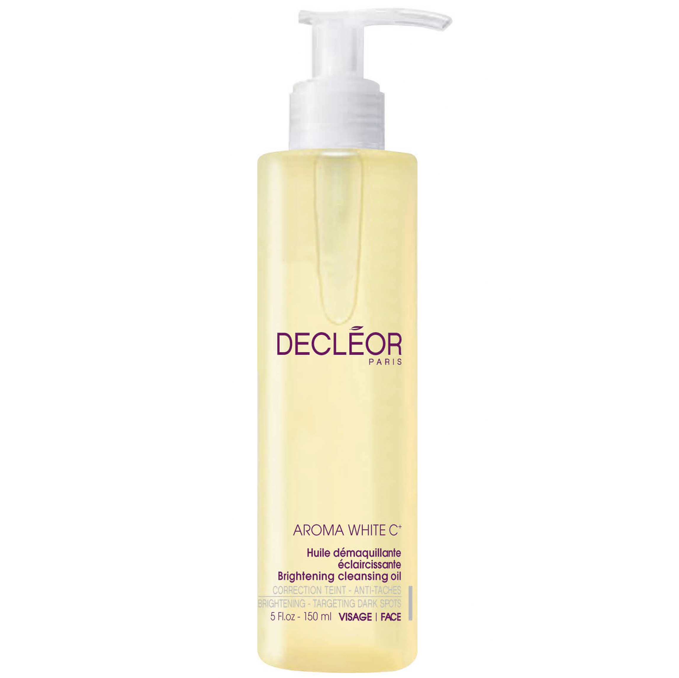 Image of Decleor Aroma White C+ Brightening Cleansing Oil 150ml