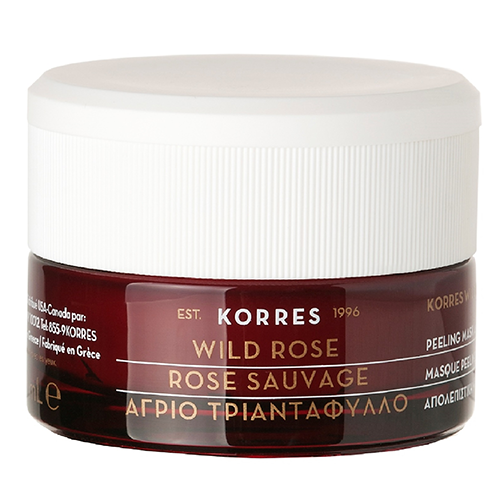 Korres Wild Rose Peeling Mask AHA 10 40ml