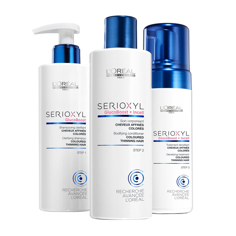 LOreal Professionnel Serioxyl Kit 2 for Coloured Thinning Hair