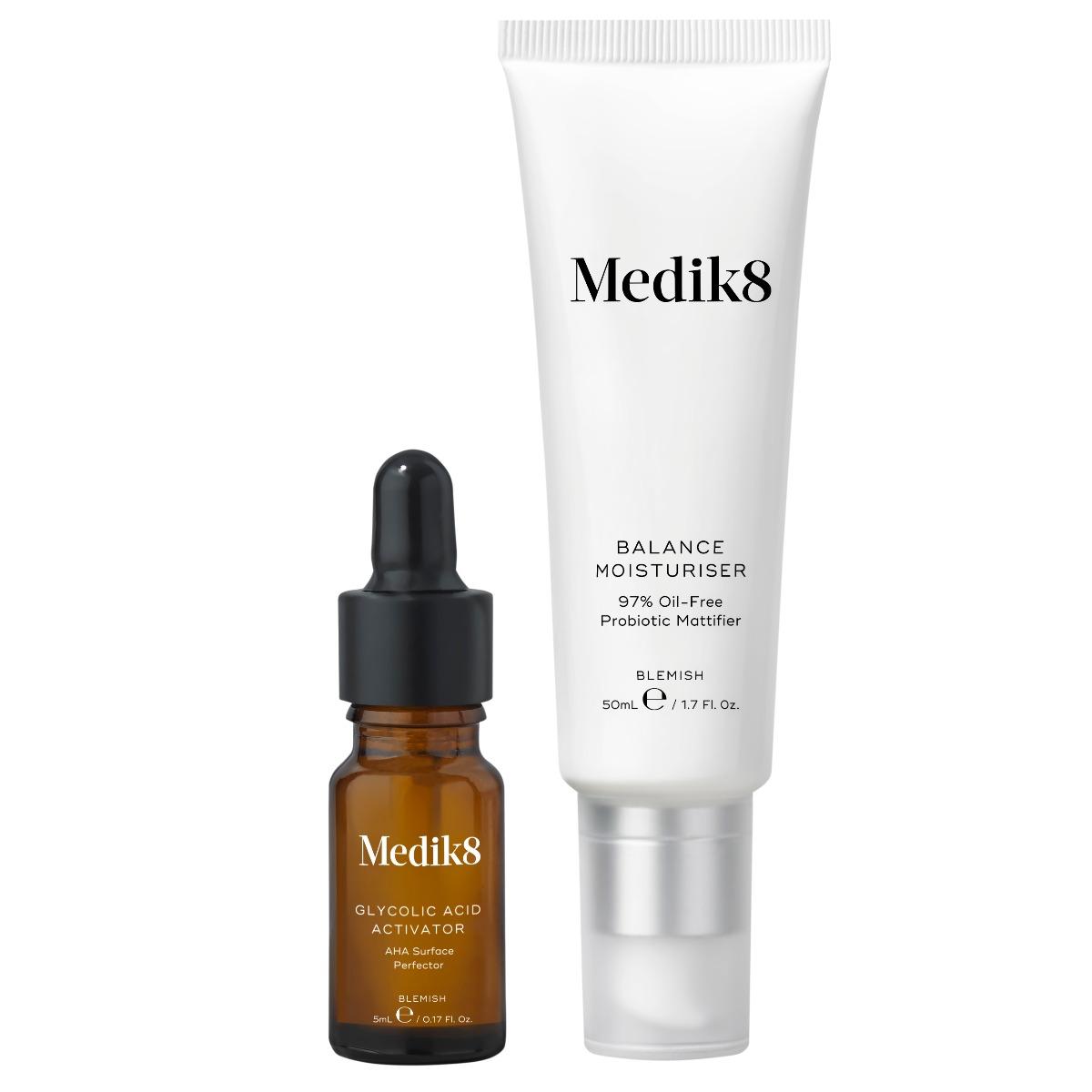 Medik8 Balance Moisturiser & Glycolic Acid Activator 55ml