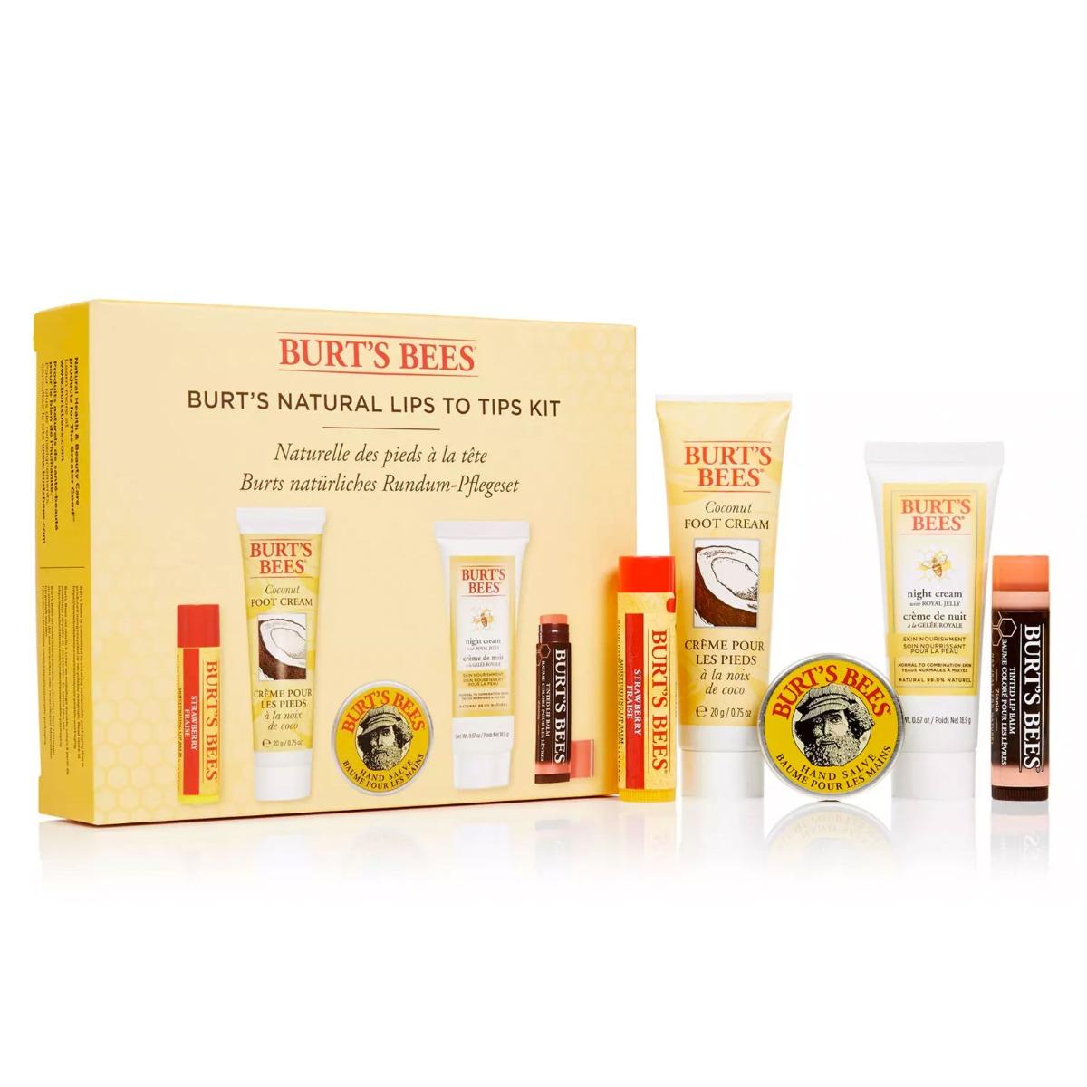 Burt's Bees Burt's Natural Lips to Tips Kit