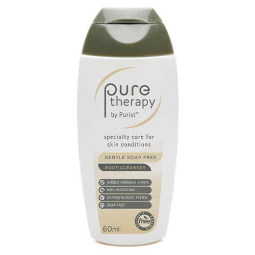A'kin Pure Therapy Gentle Soap Free Body Cleanser 60ml