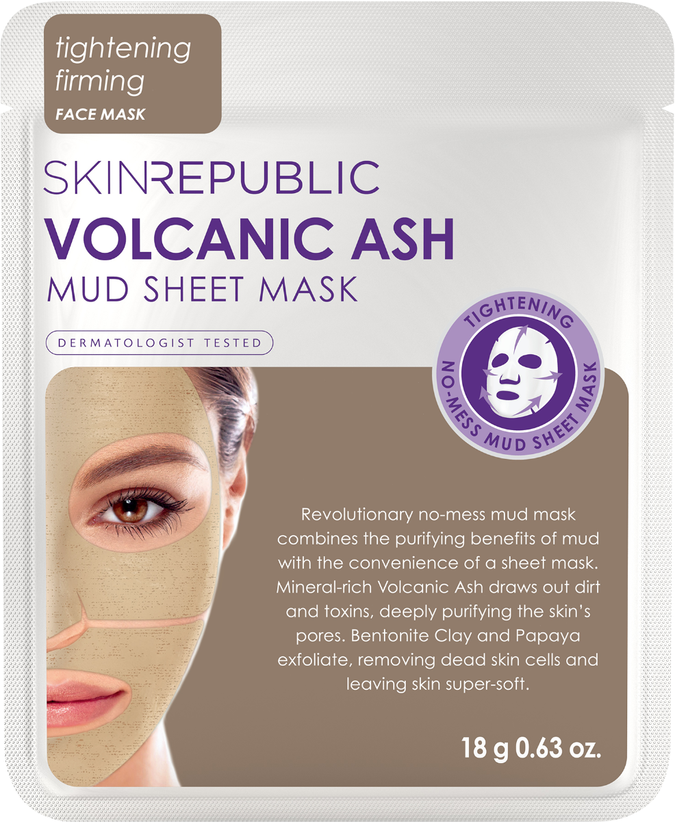 Skin Republic Volcanic Ash Mud Face Mask 18g