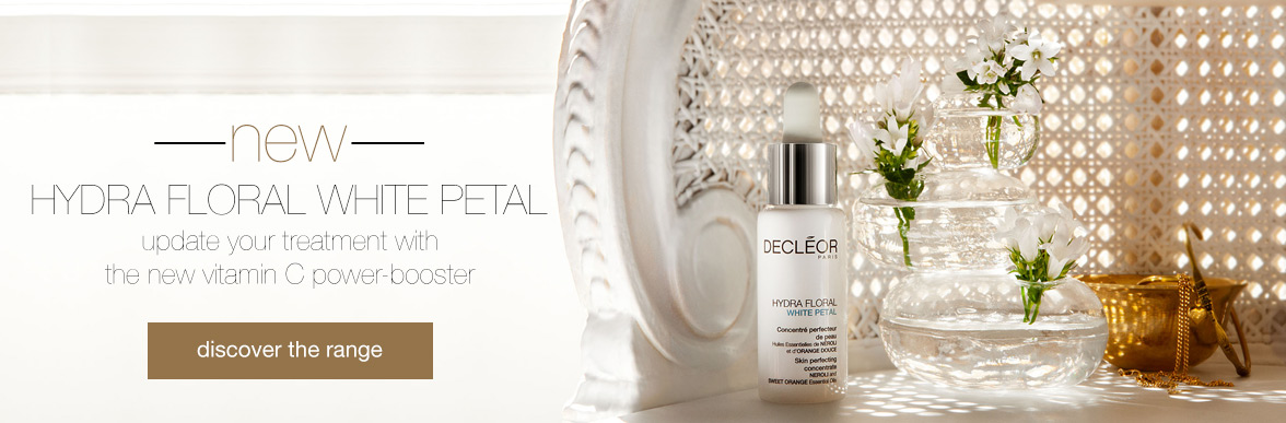 NEW Decleor Hydrate Floral White Petal Range