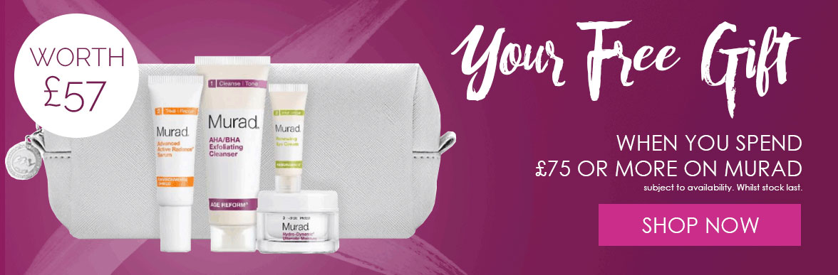 Free Gift Worth £57 When You Spend £75 On Any Murad Items
