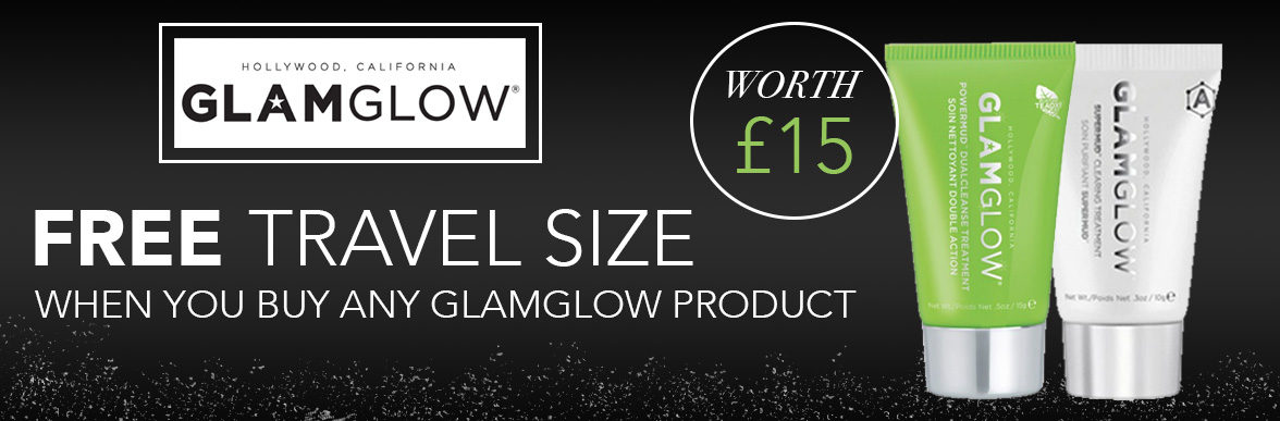 Free GlamGlow Travel Size With Every Order