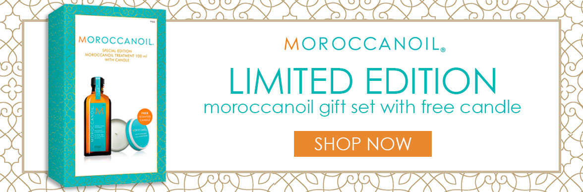 Free Candle With Moroccanoil Treatment 100ml