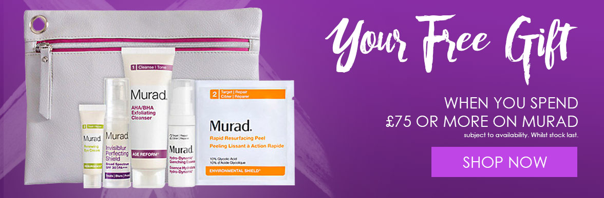 Free Murad Gift When You Spend £75 Or More On Murad